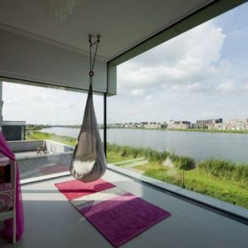 Biệt thự cạnh sông – Phong thủy Trọng Hùng