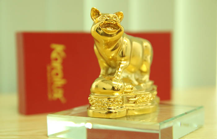 Lợn tài lộc - Phong thủy Trọng Hùng