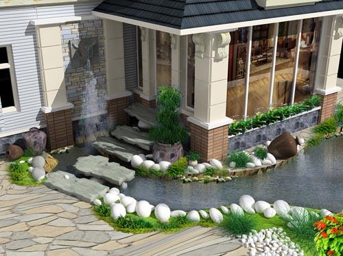 Biệt Thự sân vườn - Trọng Hùng Fengshui