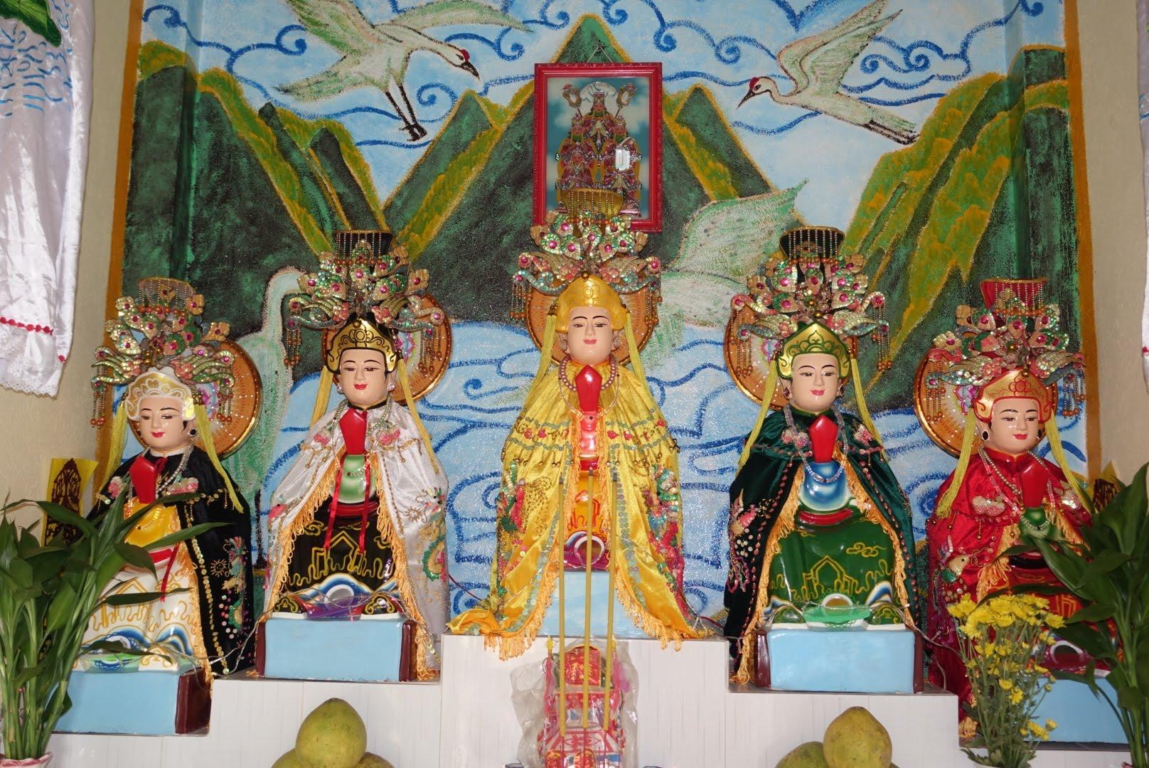 Năm mẹ ngũ hành - Phong thủy Trọng Hùng