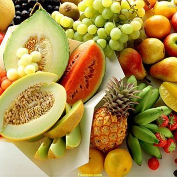 Mâm trái cây – Phong thủy Trọng Hùng