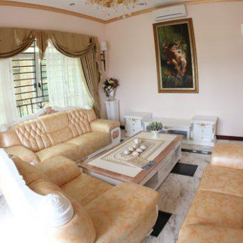 Phòng khách thường có vị trí ở phía trước nhà