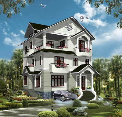Nhà đẹp - Phong thủy Trọng Hùng