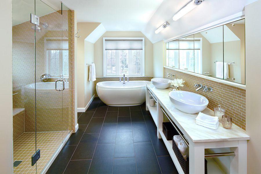 Tạo dựng không gian phòng tắm tuyệt vời với bồn tắm nhập khẩu