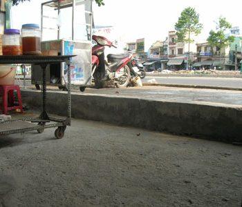 Nhà thấp hơn ngoài đường – Phong thủy Trọng Hùng