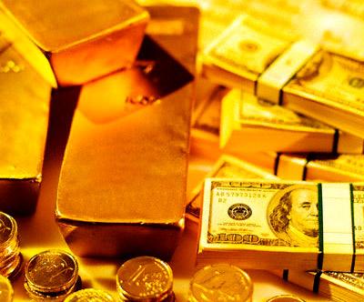 Vàng và đô la