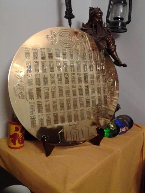 Gương 72 phép thần thông thu phục Ma quỷ - Phong thủy Trọng Hùng