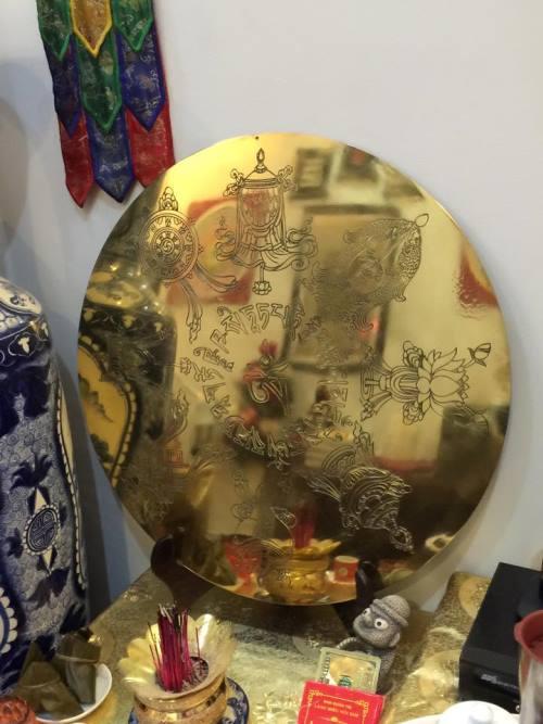 Gương chiêu tài lộc - Phong thủy Trọng Hùng