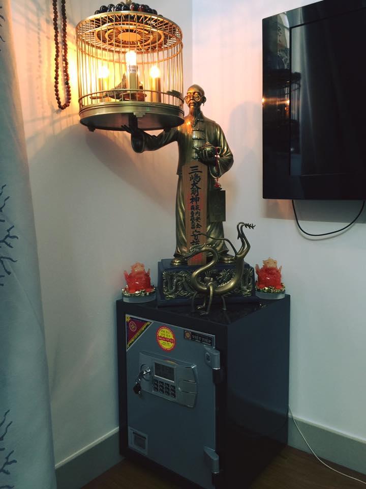 Cách đặt két sắt để chiêu tài - Phong Thủy Trọng Hùng