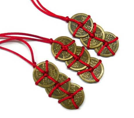 đồng xu phong thủy - phong thủy trọng hùng