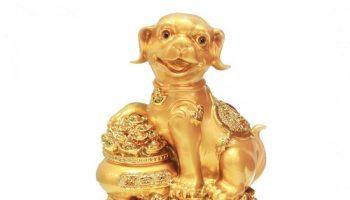tượng chó phong thủy – phong thủy trọng hùng