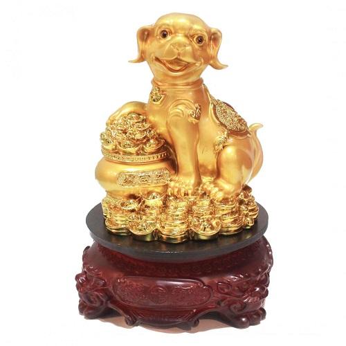 tượng chó phong thủy - phong thủy trọng hùng