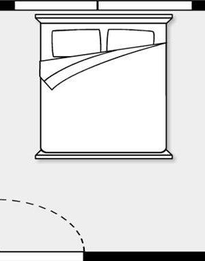phòng ngủ sai phong thủy – phong thủy trọng hùng