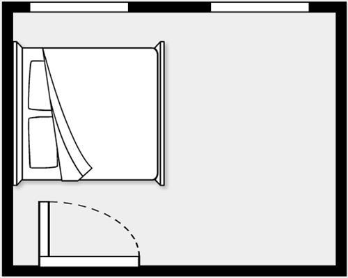 phòng ngủ sai phong thủy - phong thủy trọng hùng