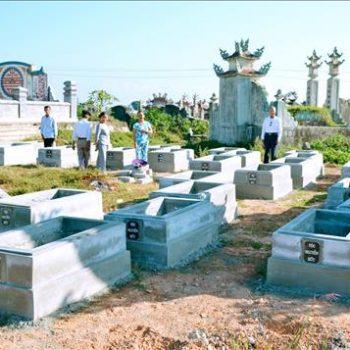 lễ tạ mộ mới xây – phong thủy trọng hùng