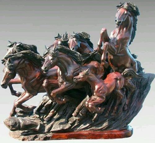 ngựa phong thủy - phong thủy trọng hùng