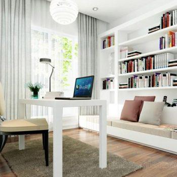 phòng đọc sách – phong thủy trọng hùng